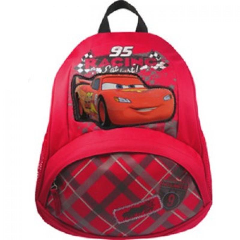 "Disney Cars ""Speed""紅色背包"