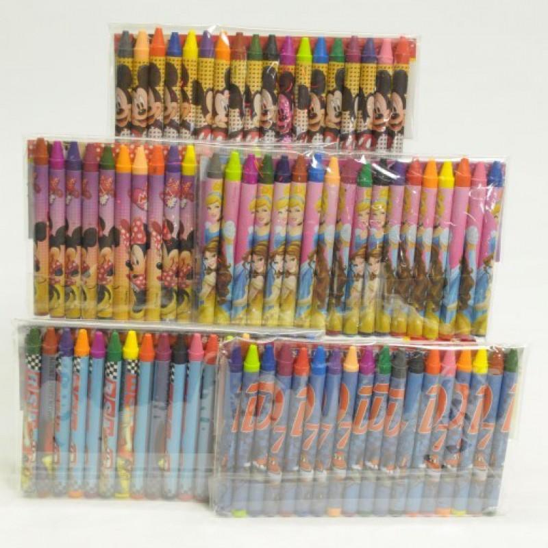Disney 18 Crayons Set