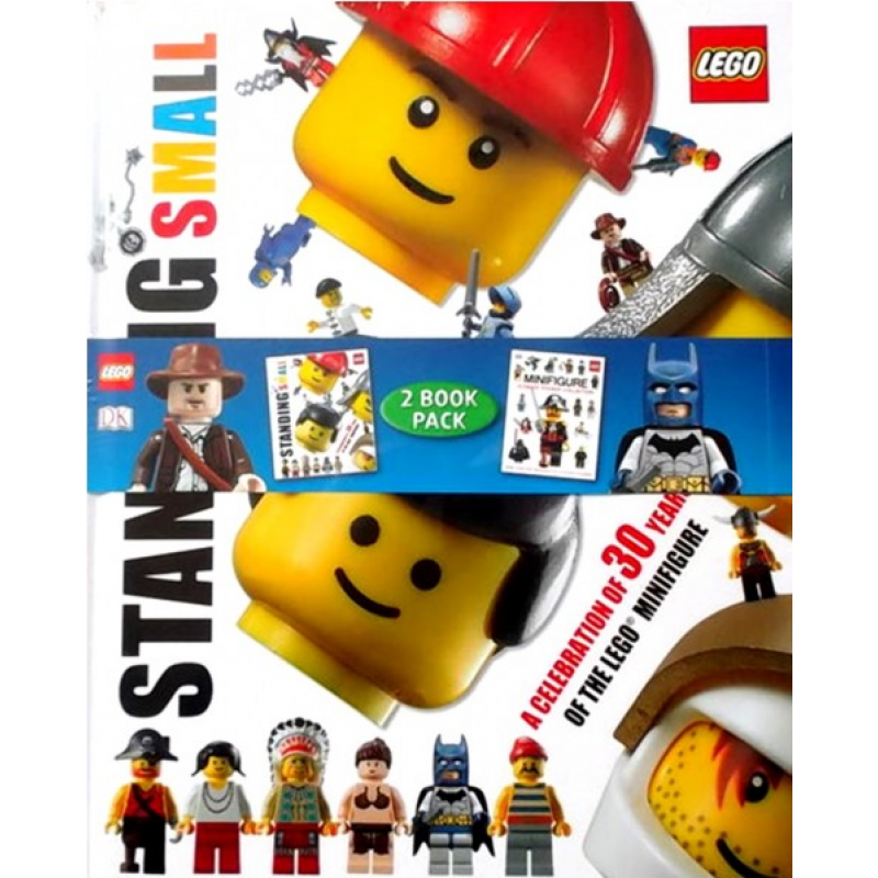 LEGO Standing Small Set - 2 Books