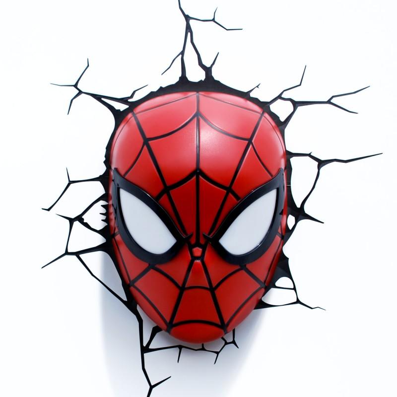 Marvel Spiderman 3D LED Wall Light