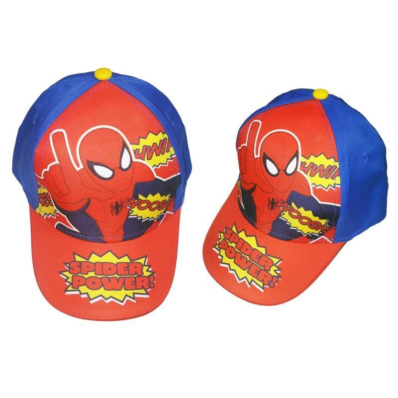 Spiderman 藍底Power Cap帽