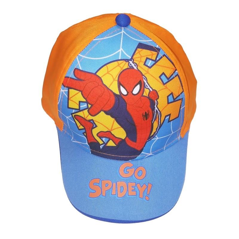 Spiderman 橙底Spidey Cap帽