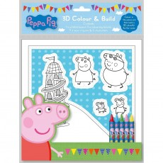 Peppa Pig 3D Colour and Build