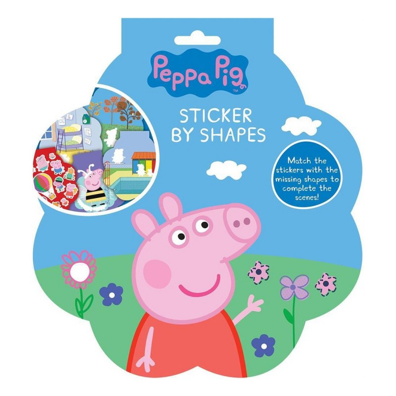 Peppa Pig Sticker By Shapes