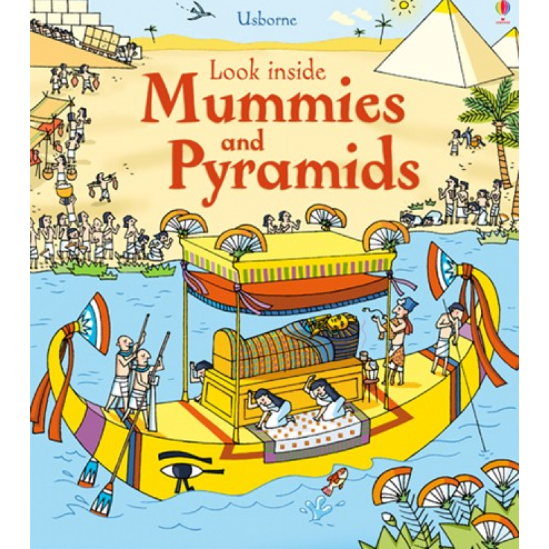 Look inside Mummies and Pyramids