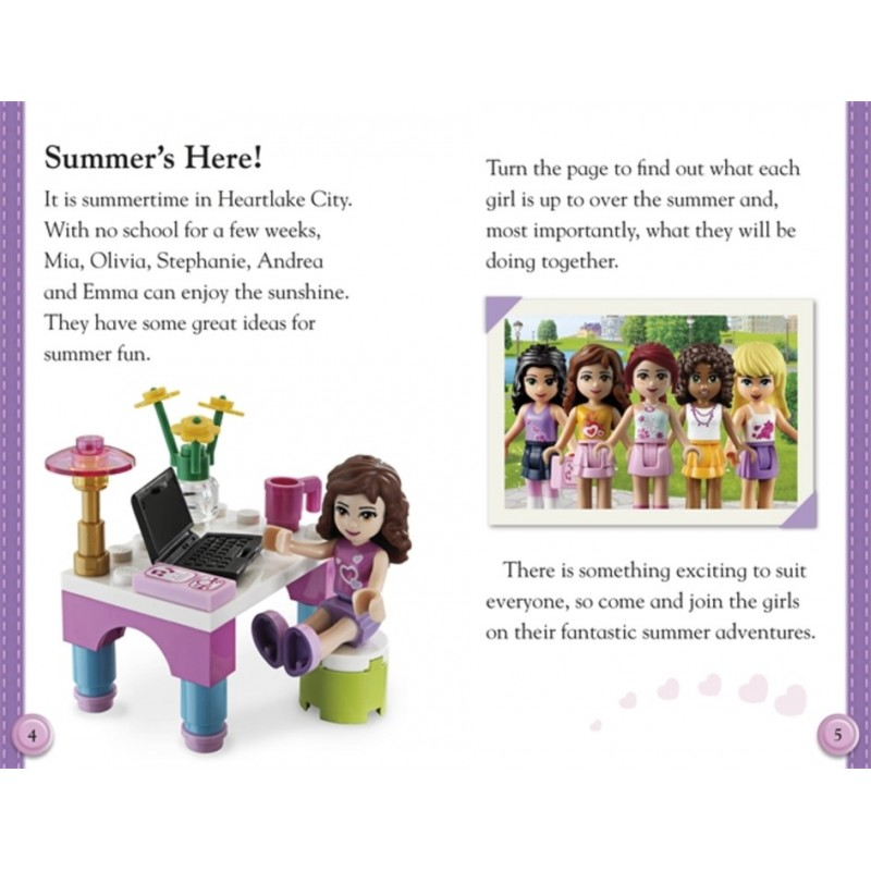 LEGO Friends Readers Collection - 4 Books