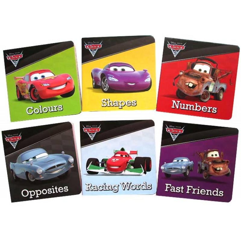 Disney Cars 迷你 6 board book