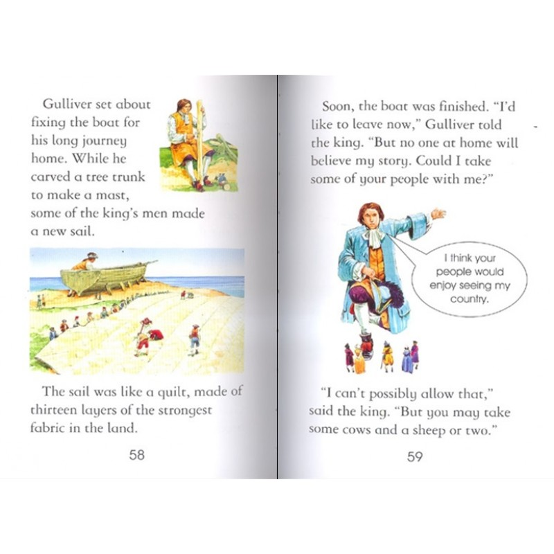 Gulliver's Travels (with CD)