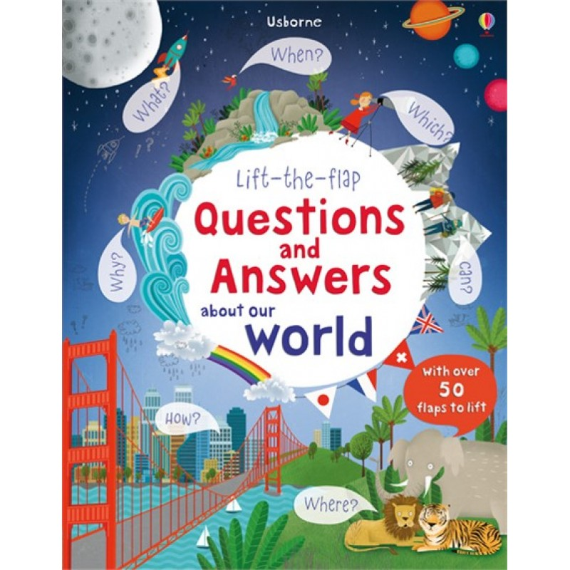 Lift-the-flap – Questions and Answers about Our World
