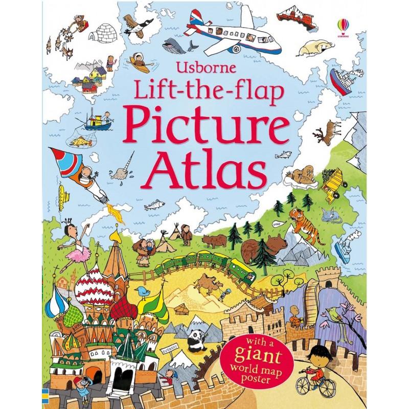 Lift-the-flap – Picture Atlas