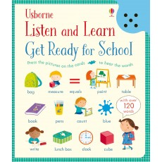 Listen and Learn Get Ready for School (預售)