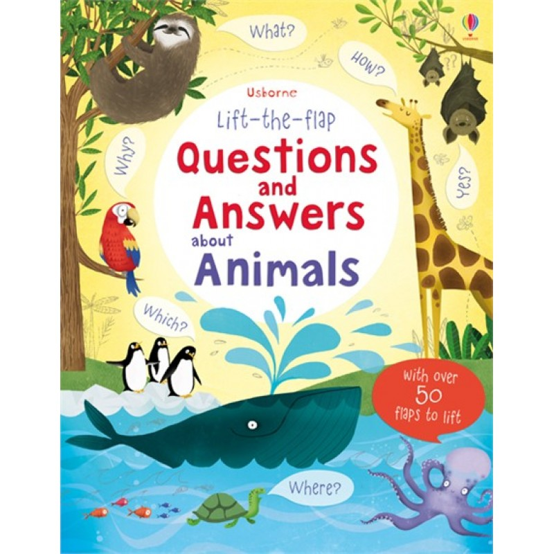 Lift-the-flap – Questions and Answers about Animals